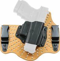 Galco KingTuk Air IWB Holster for Glock 17,19,22,23,26,27,31,32,33, RH, Tan -...