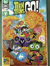 2018 SDCC EXCLUSIVE DC TEEN TITANS GO SPECIAL EDITION #1 COMIC BOOK LOOK