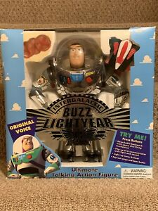 Intergalactic Buzz Lightyear Action figure 1995 New In Box