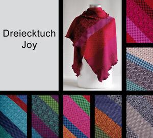 Dreiecktuch Joy aus 100 % Wolle vom Modelabel invero - Made in Germany