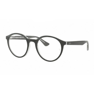 Eyewear Ray Ban RB 5361 2034 Black On Transparent 51 20 145 Hoya Lens Clear