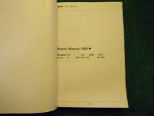 SEAT TOLEDO 1.6L 1.8L 2.0L PETROL ENGINE OEM WORKSHOP MANUAL 1994/97>