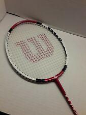 Used Wilson Titanium Series Ti. POWER badminton racquet 90 G.