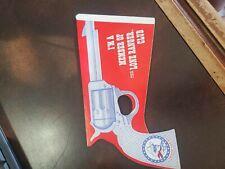 Vintage Lone Ranger Club Toy Cardboard Popping Premium