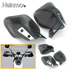 "Universal 7/8"" 22mm Motorcycle Motorbike Handguards Hand Guards Protectors Black"