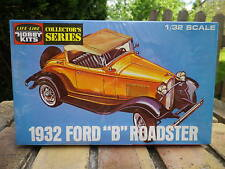 LIFE LIKE PRODUCTS USA 1:32 FORD B 1932 maquette à monter neuf jamais ouverte.