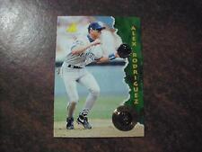 ALEX RODRIGUEZ 1995 PINNACLE BASEBALL ROOKIE CARD #132  SHARP ROOKIE CARD WOW
