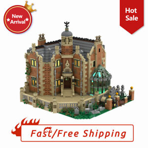 The Haunted Manor Ghost House Collection Castle Street View Educational Bricks