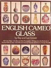 Signed Ray & Lee Grover English Cameo Glass Book