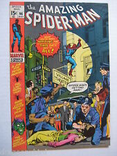 Vintage Old Collectible Marvel Comic Book Amazing Spiderman 96 VFNM
