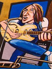 JOHN LENNON PRINT poster beatles abbey road cd white album epiphone fender amp