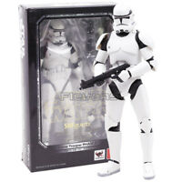 6'' SHF S.H.Figuarts Star Wars Clone Trooper PHASE II Captain Action Figure Toy