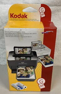 G-50 Kodak Color Cartridge And Photo Paper Kit