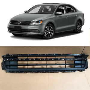 Front Lower Bumper Grill Grille w/o PDC VW1036136 for 2015 2018 Volkswagen Jetta