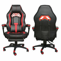 Ergonomic Gaming Chair Recliner Height Adjustable Office Gamer Chair PU Leather