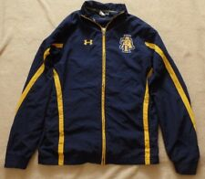 North Carolina A & T Marching Machine jacket, small, Under Armour, navy w/ gold