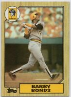 1987 Topps #320 Barry Bonds Rookie RC MINT+ Pittsburgh Pirates FREE SHIPPING