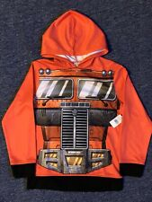 Transformers Red Hoodie Boys/Youth 8-10 NWT Brand New!