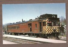VINTAGE RAILROAD POSTCARD CANADIAN PACIFIC 9004 8