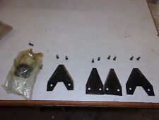 OEM BCS SICKLE REPLACMENT BLADES AND COUPLER HOLDER SEVERAL RIVETS