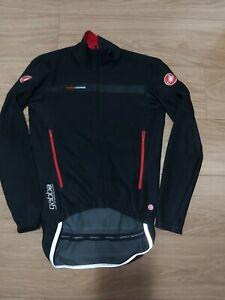 Castelli Rosso Corsa Wind Stopper Jacket Size-M