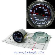 """52mm/2""""  Car Truck LED Turbo Boost Vacuum Press Pressure Gauge Meter Psi"""