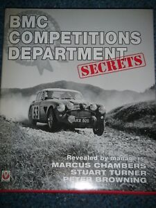 BMC COMPETITIONS DEPARTMENT SECRETS OFFICIAL SIGNED LIMITED EDITION COPY RARE