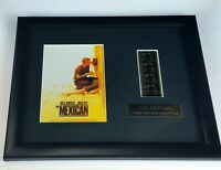 Movie The Mexican Original Film Cell Memorabilia Wall Plaque Limited with COA