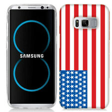 For Samsung Galaxy S8 PLUS American Flag Case Skin Cover