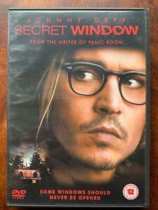 Secret Window DVD 2004 Stephen King Horror Movie with Johnny Depp