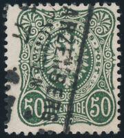 DR 1877, MiNr. 38 b, sauber gestempelt, gepr. Zenker, Mi. 200,-