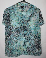 East 5th Short Sleeve Blouse Size L