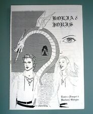 KOLIA & JORIS Fumetto Fantasy Indipendente Boys Love YAOI Italiano Anni 90