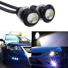 Car DRL 23mm LED 6000K Cold White Eagle Eye Light DRL Fog Bulbs 12V Foglight