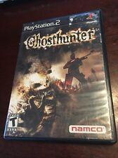 GhostHunter - Ps2 ( Playstation 2 , 2004 ) No Manual !