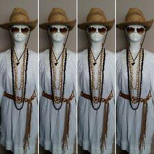 Ladies White 100% Cotton Bohemian Smock Dress/Tunic by DNY. Size L.