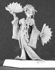 O-SAYUMI GEISHA - PATHFINDER REAPER figurine miniature jdr rpg kimono fan 60191