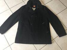 Parka ,Veste manteau HUGO BOSS taille 52 Soit L XL laine Gris Très Bon ed328b9a35fe