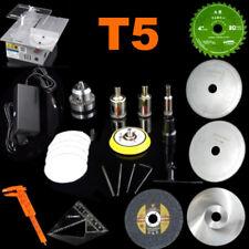 Precision T5 Mini Table Saw DIY Cutter Acrylic Wood Cutting Polishing machine