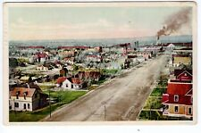 1909 La Junta, CO Postcard - Birdseye View of La Junta - Posted