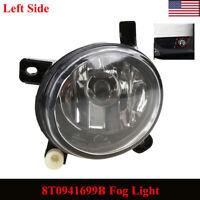Front Left Side Bumper Lower Fog Light Lamp w/ Bulb 8T0941699B For Audi A4 A6 Q5