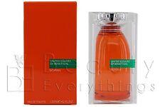 United Colors Of Benetton Woman 4.2oz / 125ml EDT Spray NIB Sealed For Women