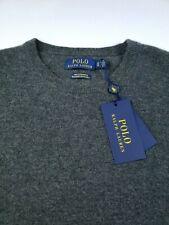 Polo Ralph Lauren 100% Cashmere Crewneck Knit Sweater Soft Luxury Pullover Men