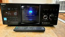Sony DVP-CX985V DVD Player Disc Explorer 400 Tested.  Replaced Belts With Remote