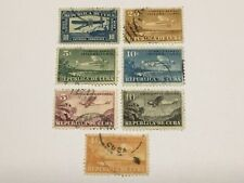 old stamps  CARIBBEAN    x 7 air post