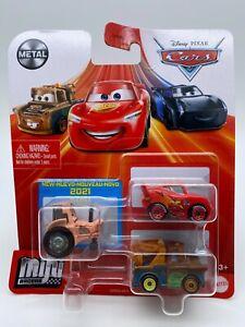 Disney Pixar Cars Metal Mini Racers Tractor Tippin' Tractor Mater McQueen
