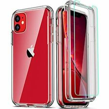 Coolqo Compatible for Iphone 11 Case with [2 X Tempered Glass Screen Protector]