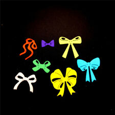 7pcs bow cutting dies stencil scrapbook album paper embossing craft diyQM