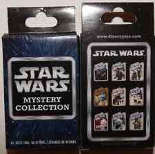 Disney pin Star Wars Mystery Box set  9 pins Darth Han Leia Boba Fett Luke Chewy