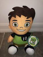 "10"" New Ben 10 Tennyson Ten Cartoon Network Plush Toy Factory Stuffed Doll Kids"